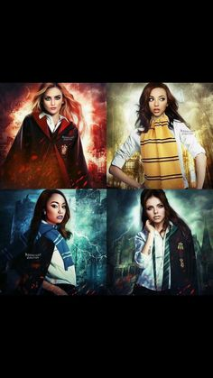 Little mix Harry potter! Little Mix Outfits, Little Mix Style, Little Mix Girls, Jesy Nelson, Perrie Edwards, Little Mix Images, Litte Mix, Real Queens, Mixed Girls