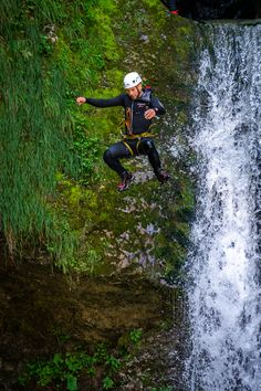 We just say 3,2,1, and you...🏃♂️ . It is for reason named Amazing canyoning. 😍 . Bonus in the end: After 10 meters jump, you have a floating part into the Sava Bohinjka river.😜 What Activities, Outdoor Activities, Abseiling, Julian Alps, Night Scenery, Lake Bled, Rappelling, Ice Climbing, Extreme Sports