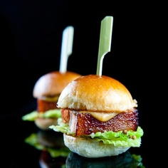 Pork belly sliders