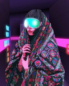 """Our Future Is Now"": The Incredible Cyberpunk Illustrations Of Mad Dog Jones - Creative Anchor Cyberpunk 2020, Cyberpunk Kunst, Cyberpunk Fashion, Steampunk Fashion, Gothic Fashion, Arte Sci Fi, Cyberpunk Aesthetic, Cyberpunk Character, Futuristic Art"