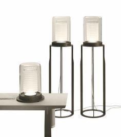 Chinese architect and designer Chi Wing Lo floor lamp Dj Lighting, Custom Lighting, Interior Lighting, Lighting Design, Floor Lanterns, Table Lanterns, Table Lamps, Arc Floor Lamps, Modern Floor Lamps