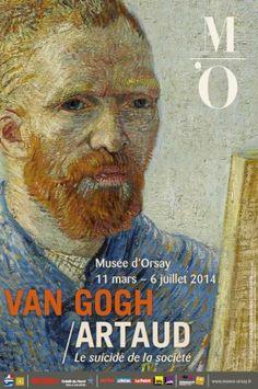 Van Gogh / Artaud  Musée d'Orsay jusqu'au 06/07/14