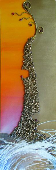 cime tempestose 2 - cm 50x150