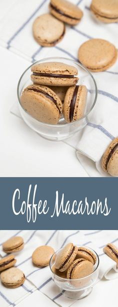 Coffee Macarons, could there be anything better? Easy step by step recipe. Coffee Macarons, could there be anything better? Easy step by step recipe. Macroons Recipe, Easy Macaroons Recipe, French Macaroon Recipes, Macarons, Coffee Macaroons, French Macaroons, Gourmet Recipes, Baking Recipes, Cookie Recipes