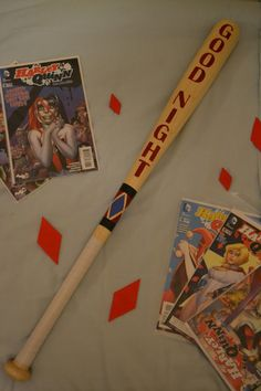 Harley Quinn Suicide Squad Good Night Baseball Bat