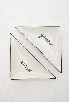 Mine Triangle Plate Set | Forever 21 - 1000154275