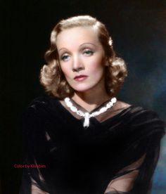 Marlene Dietrich by klimbims on DeviantArt