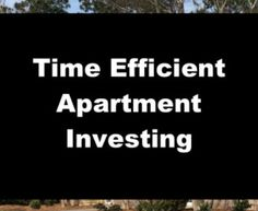 When it comes to real estate investing, what is the best use of your time? Let's compare single-family rentals to buying an apartment building!