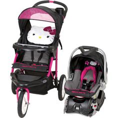 I want to get this for Jewel!!! Anyone want to go in on it? Baby Trend Hello Kitty Jogger Travel System