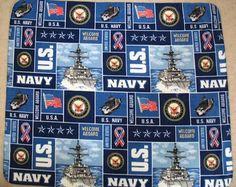 U.S. NAVY MILITARY ALLOVER PRINTED FLEECE BLANKET Navy Military, Military Life, Proud Of My Son, Welcome Aboard, Us Navy, Babies, Blanket, My Style, Printed