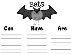 Fun in First Grade: Informative Writing and Bat Freebies