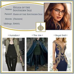 """Descendants OCs on Instagram: """"Helga ✧ Daughter of Hans •••••••••••••••••••••••••••••••••••••••••••••• Feel free to use this character however you like - just please tell…"""" Disney Themed Outfits, Movie Outfits, Descendants Cast, Disney Descendants, Teen Wolf, Oc, Frozen, Aesthetics, Fandom"""