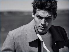 Jacob Hankin Sports Designer Looks for GQ Russia - The Fashionisto