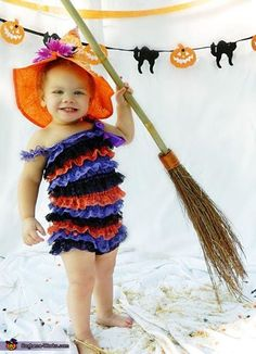 Witch Baby Halloween Costume Idea