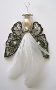 Feathered Angel Ornament - Tutorial