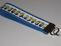 MINIONS Key Fob Wristlet by OnceDesignedbyDianne on Etsy