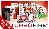 TurboFire Challenge Pack  TurboFire® is the intense cardio conditioning program from fitness innovator Chalene Johnson. Get leaner with exercises that can burn up to 9x more fat and calories than regular cardio, set to smoking hot music.  Order Here!