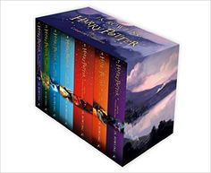 Harry Potter Box Set: The Complete Collection (Children's Paperback): Amazon.co.uk: J.K. Rowling: 9781408856772: Books