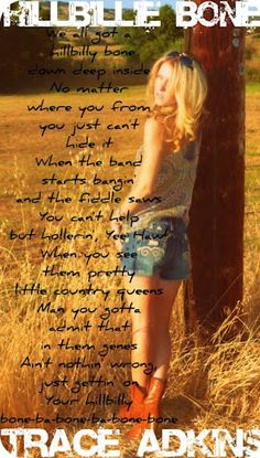 Country Music Lyrics #Trace Adkins