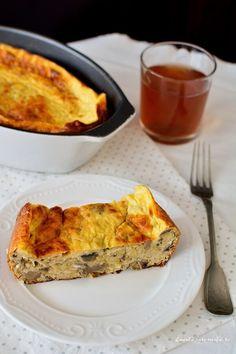 Dessert Drinks, Dessert Recipes, Desserts, Vegetarian Recipes, Cooking Recipes, Quiche, Zucchini, Foodies, French Toast