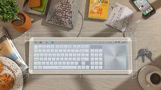 いつでも俺仕様!用途に応じてインタフェースが変化する次世代キーボード『101 touch』 | IDEA HACK