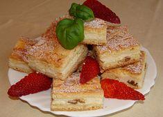 Koláč s tvarohovou náplní Waffles, French Toast, Breakfast, Food, Morning Coffee, Essen, Waffle, Meals, Yemek