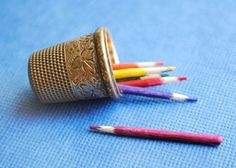 Tiny Coloring Pencils | 58 Very Tiny Cute Things