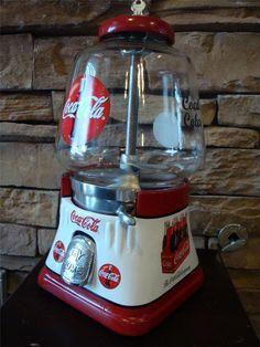 Vintage Coca Cola Gumball/Nut Machine