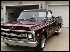 1970 Chevrolet C10 Pickup  350 CI, Automatic#Repin By:Pinterest++ for iPad#