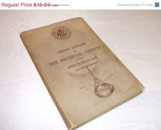 ON SALE Antique 1887 Short History of The Medieval by RareBooks, $9.99