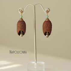 Cocoon earrings Silk cocoon jewelry Silk cocoon earring Silk cocoons Silk worm Silkworm earring Jewelry silk cocoon Nephritis Pyrite by Napoleonka on Etsy