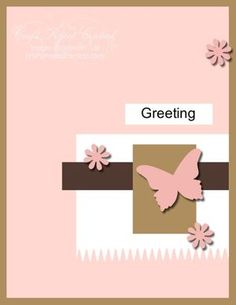 Creating Pretty Cards #60...