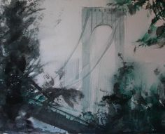 Whitestone Bridge III - 9x12 Antonio Masi