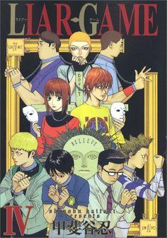 Liar Game vol 4 Liar Game, Manga Collection, Youtube Subscribers, Manga Covers, Dieselpunk, Death Note, Me Me Me Anime, Cyberpunk, Webtoon