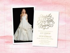 You Picked the Dress, We Picked Your Invites    TheKnot.com