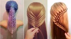 15 unglaubliche Haarverwandlungen – Schöne Hochsteckfrisuren und Flechtfrisuren