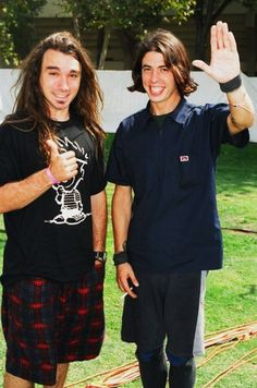 Wow! Dave and Dave...in the early days!