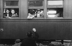 People of Japanese ancestry depart by train for an internment camp, 1942. #ww1 #ww2 #cdnhistory