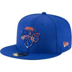Men s New Era Blue New York Knicks Logo Grade 59FIFTY Structured Hat New Era  Cap f33271dcebb