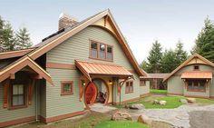 modern hobbit house