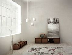 A vintage design of a container NARA to put in a minimalist room.