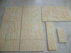 PŁASKORZEŹBY Egipskie