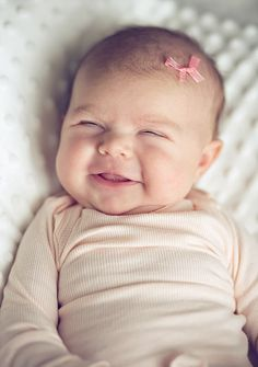 prettinessandbuttons:    i love smiles on babies