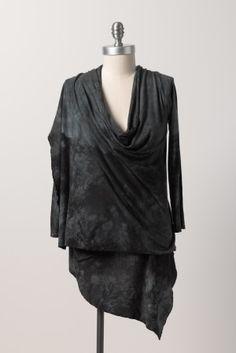 Zavella versatile organic bamboo wrap in vintage black
