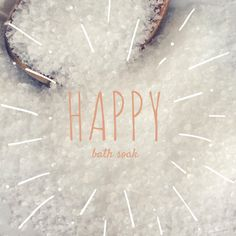 New to EnlightenedLotusByEC on Etsy: Happy Bath Soak Bath Salts All Natural Bath Salts (9.95 USD)
