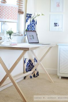How to build a campaign style desk.