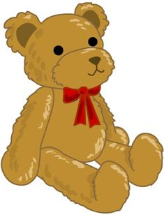 Teddy bear black bear clip art free clipartwiz