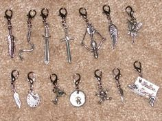 Mortal Instruments inspired Charms