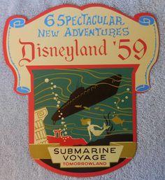 2005 Disneyland Kevin Jody LE 1000 Metal Sign Disneyland 59 Six Adventures Vintage Disneyland, New Adventures, Disney Love, 50th Anniversary, Metal Signs, Retro Vintage, Tin, Geek, Display