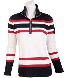 Maritimes #Sweatshirt aus der Navy Sports Kollektion von LISA #CAMPIONE.